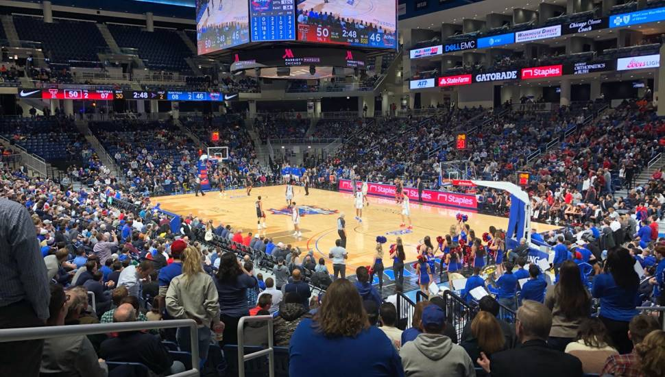 Wintrust Arena,  Vak <strong>14</strong>, Rij <strong>3</strong>, Stoel <strong>1</strong>