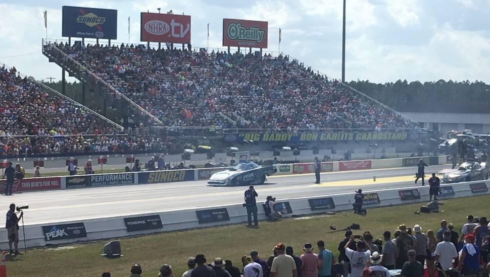 Gainesville Raceway,  Vak <strong>228</strong>, Rij <strong>8</strong>, Stoel <strong>7</strong>