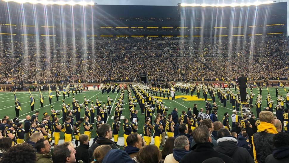 Michigan Stadium,  Vak <strong>PP</strong>, Rij <strong>27</strong>, Stoel <strong>2</strong>