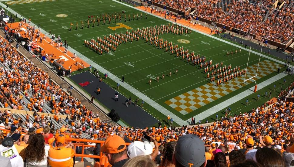Neyland Stadium,  Vak <strong>312</strong>, Rij <strong>2</strong>, Stoel <strong>12</strong>