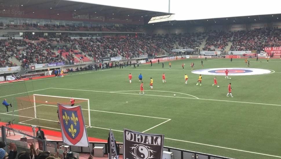 Stade Marcel-Picot,  Vak <strong>B1</strong>, Rij <strong>8</strong>, Stoel <strong>7</strong>