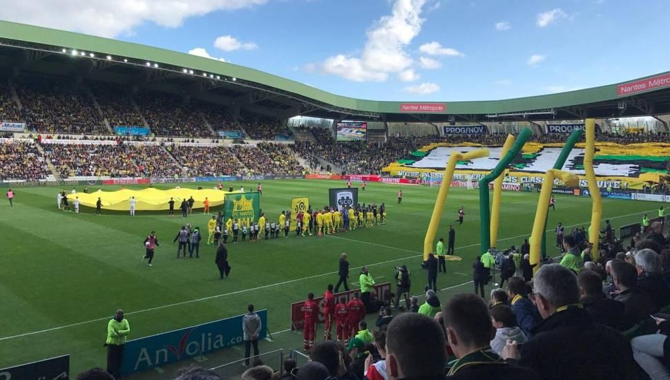 Stade de la Beaujoire,  Vak <strong>B</strong>, Rij <strong>85</strong>, Stoel <strong>2</strong>
