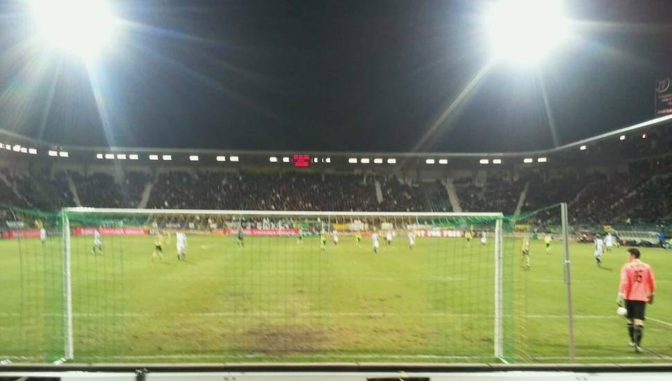 Cars Jeans Stadion,  Vak <strong>Loge</strong>, Rij <strong>4</strong>