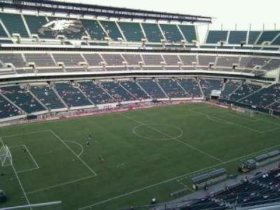 Lincoln Financial Field, vak: 240, rij: 4, stoel: 23