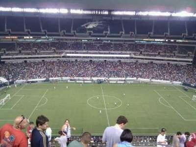 Lincoln Financial Field, vak: 225, rij: 15, stoel: 37