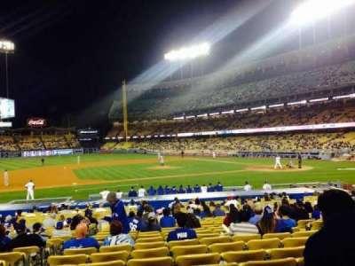 Dodger Stadium, vak: 22FD, rij: N, stoel: 3