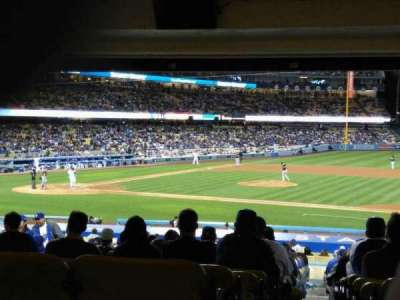 Dodger Stadium, vak: 20FD, rij: X
