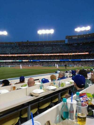 Dodger Stadium, vak: 43BL, rij: 6, stoel: 7