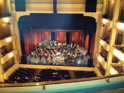 Bass Performance Hall, vak: Lower Gallery, rij: B, stoel: 28