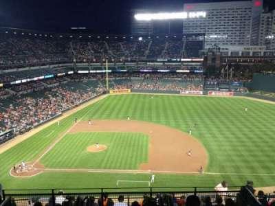 Oriole Park at Camden Yards, vak: 322, rij: 13, stoel: 11