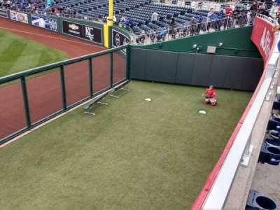 Kauffman Stadium, vak: 104, rij: a, stoel: 14