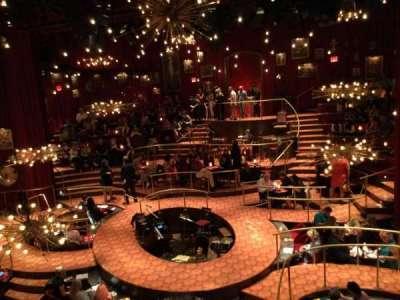 Imperial Theatre, vak: Front Mezzanine Sec 2, rij: A, stoel: 9