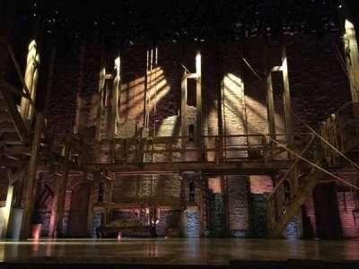 Richard Rodgers Theatre, vak: Orch Center, rij: B, stoel: 105