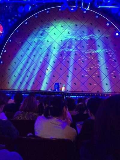Palace Theatre (Broadway), vak: Orchestra, rij: K, stoel: 110