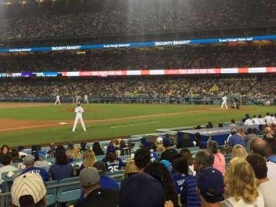 Dodger Stadium, vak: 31FD, rij: G, stoel: 3
