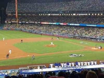 Dodger Stadium, vak: 137lg, rij: P, stoel: 8