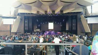 Saratoga Performing Arts Center, vak: 8, rij: JJ, stoel: 18