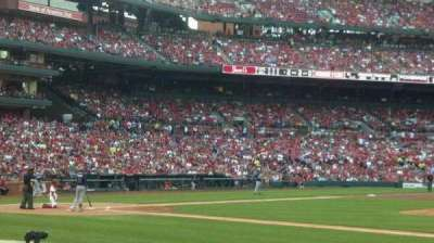 Busch Stadium, vak: 143, rij: 1, stoel: 12