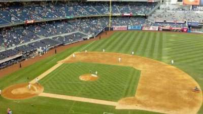 Yankee Stadium, vak: 316, rij: 1, stoel: 8