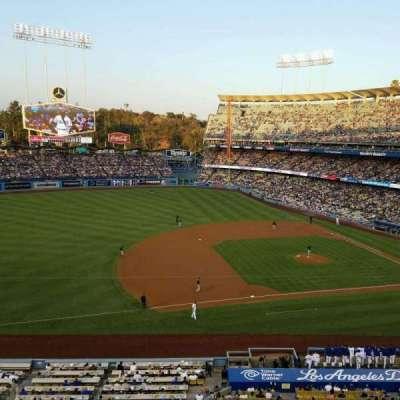 Dodger Stadium, vak: 23RS, rij: A, stoel: 11
