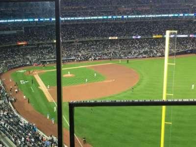 Yankee Stadium, vak: 407B, rij: 1, stoel: 20