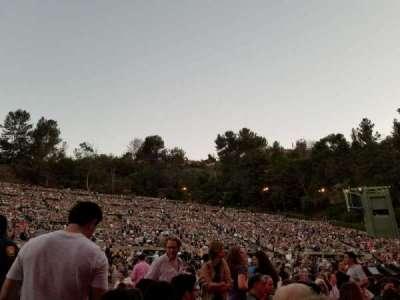 Hollywood Bowl, vak: Pool A, rij: 5, stoel: 1