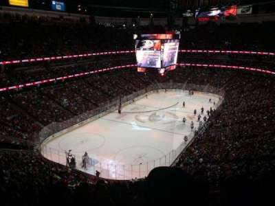Honda Center, vak: 419, rij: K, stoel: 8