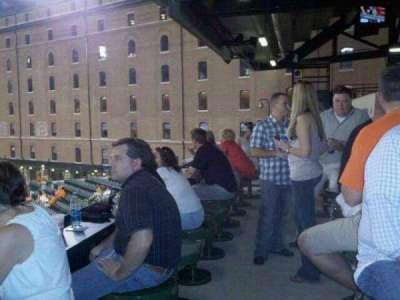 Oriole Park at Camden Yards, vak: Miller Lite Flite Deck
