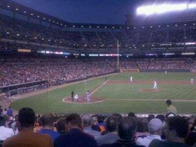 Oriole Park at Camden Yards, vak: 27, rij: 24, stoel: 4