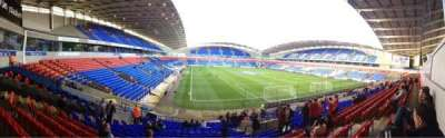 Macron Stadium, vak: South Stand Lower, rij: Z, stoel: 41