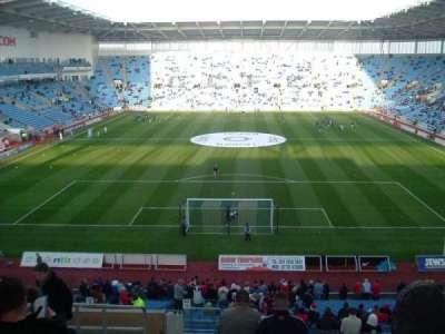 Ricoh Arena, vak: 10, rij: NN, stoel: 24