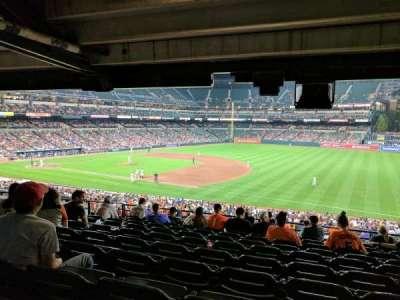 Oriole Park at Camden Yards, vak: 13, rij: 10, stoel: 15