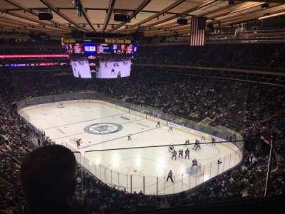 Madison Square Garden, vak: 414, rij: 2, stoel: 8