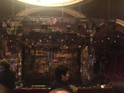 Broadway Theatre - 53rd Street, vak: Rear Mezzanine, rij: B, stoel: 117