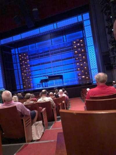Stephen Sondheim Theatre, vak: Orchestra right, rij: N, stoel: 2