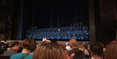 Lunt-Fontanne Theatre, vak: Orchestra right, rij: L, stoel: 12
