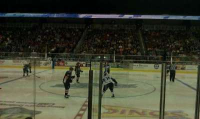 Intrust Bank Arena, vak: 103, rij: F, stoel: 5