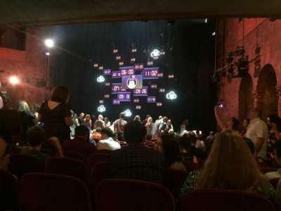 August Wilson Theatre, vak: OrchR, rij: R, stoel: 16