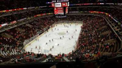 United Center, vak: 324, rij: 7, stoel: 12