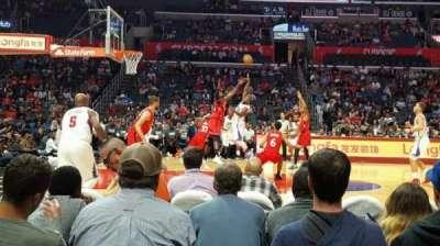 Staples Center, vak: 112, rij: 3, stoel: 8