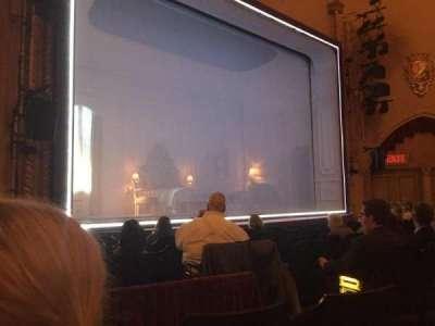 John Golden Theatre, vak: Left Orchestra, rij: J, stoel: 5