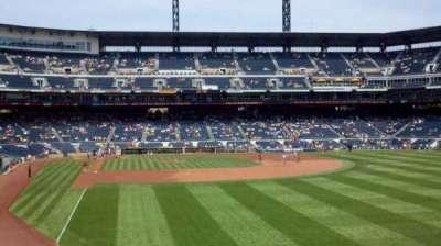 PNC Park, vak: 145, rij: A, stoel: 16