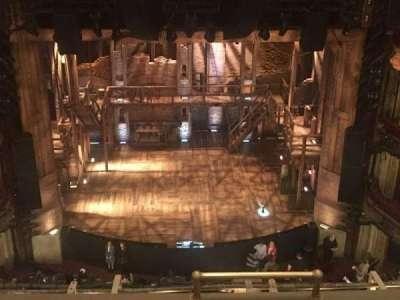 CIBC Theatre, vak: Balc lc, rij: E, stoel: 411
