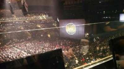 Madison Square Garden, vak: 209, rij: 1, stoel: 8