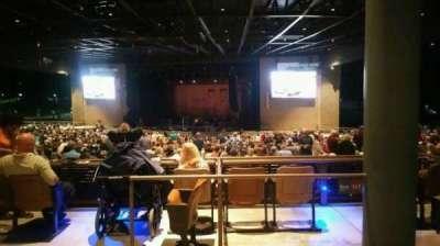 Bethel Woods Center for the Arts, vak: 14, rij: A, stoel: 21
