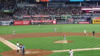 Yankee Stadium, vak: 118S, rij: 17S, stoel: 9