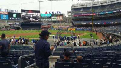 Yankee Stadium, vak: 121A, rij: 9, stoel: 13