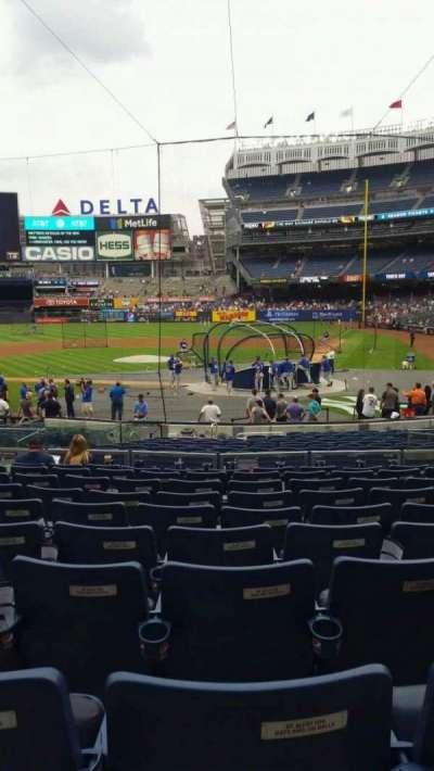 Yankee Stadium, vak: 121B, rij: 10, stoel: 6