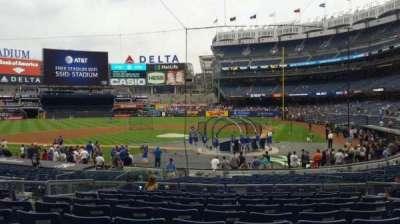 Yankee Stadium, vak: 121B, rij: 10, stoel: 7