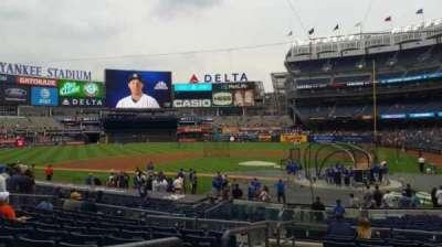 Yankee Stadium, vak: 121B, rij: 10, stoel: 13